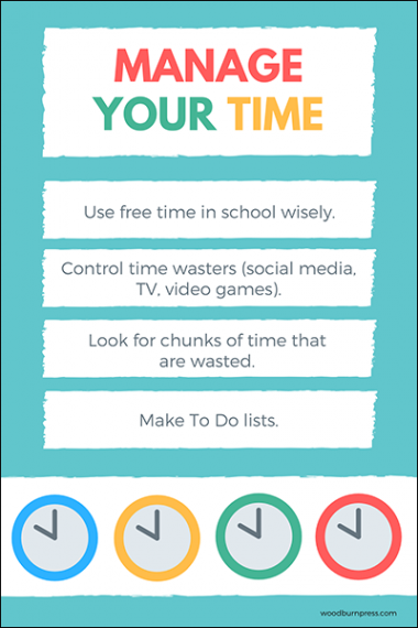 Manage Your Time Poster