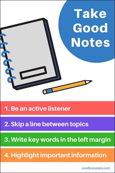 Take Good Notes Poster