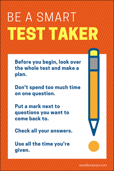 Be a Smart Test Taker