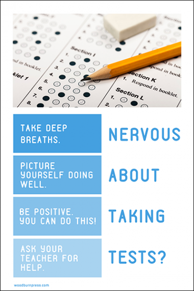 Nervous About Taking Tests?
