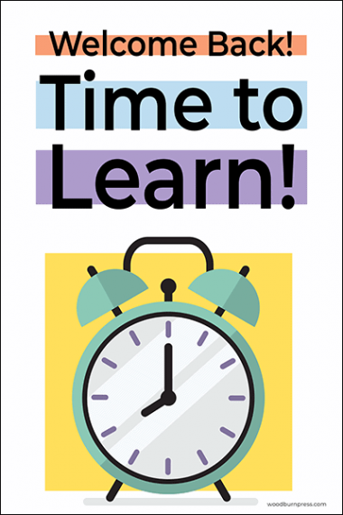 Time to Learn Poster