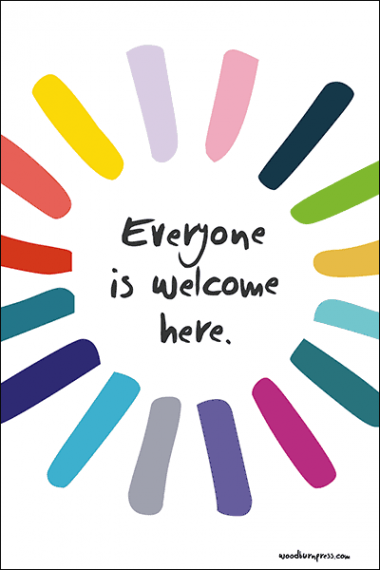 Everyone is Welcome Here Poster