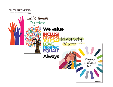 Celebrate Diversity Poster Package