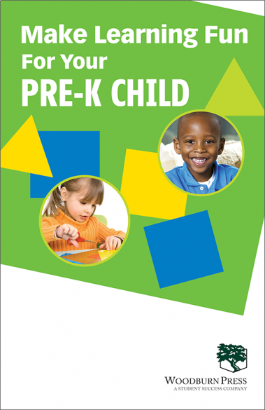 Make Learning Fun for Your Pre-K Child Booklet Handout