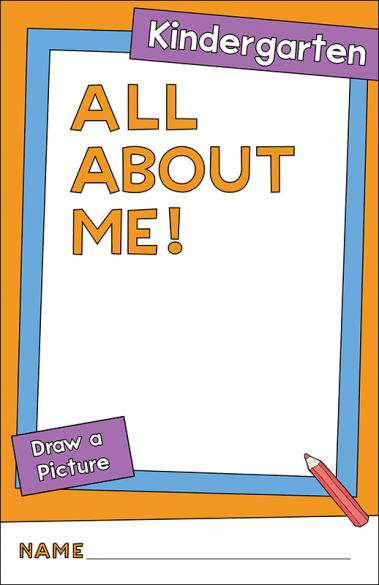 All About Me - Kindergarten