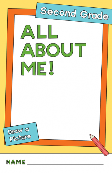 All About Me Second Grade Activity Booklet