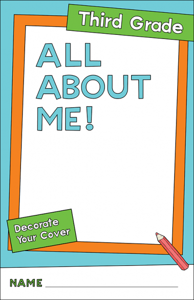 All About Me Third Grade Activity Booklet