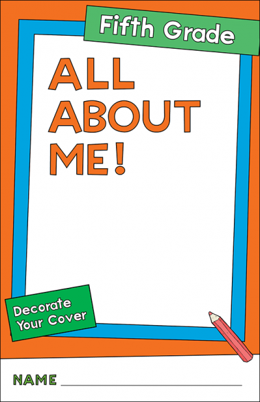 All About Me Fifth Grade Activity Booklet