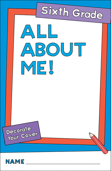 All About Me Sixth Grade Activity Booklet