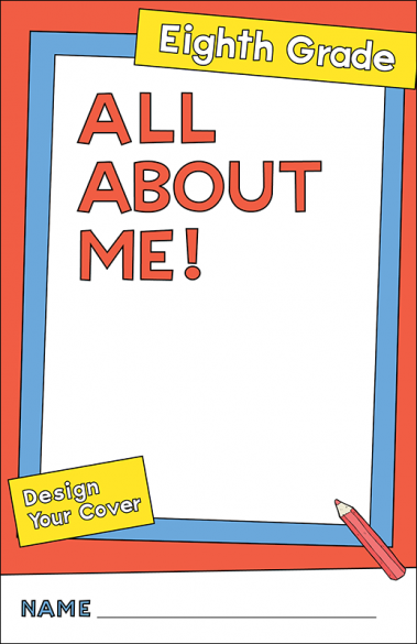 All About Me Eighth Grade Activity Booklet