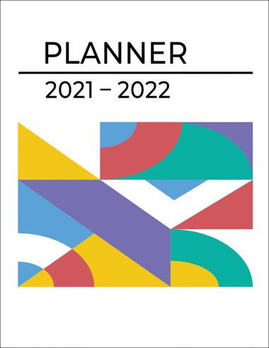Monthly Planner 2021-2022