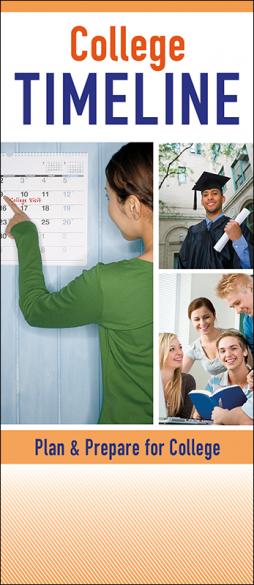 College Timeline Pamphlet Handout