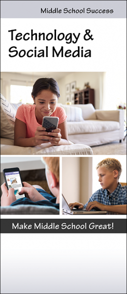 Middle School Success Technology & Social Media Pamphlet Handout