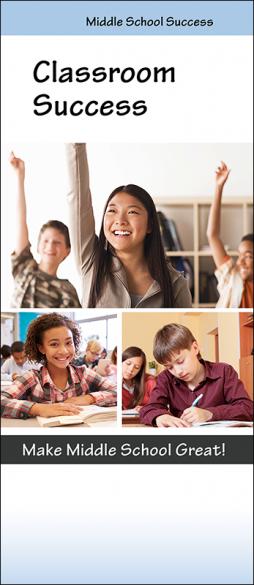Middle School Success Classroom Success Pamphlet Handout