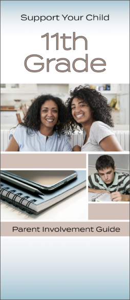 Support Your Child 11th Grade Parent Involvement Pamphlet Handout