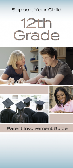Support Your Child 12th Grade Parent Involvement Pamphlet Handout