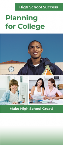 High School Success Planning for College InfoGuide Handout
