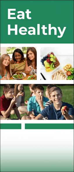 Eat Healthy Pamphlet Handout