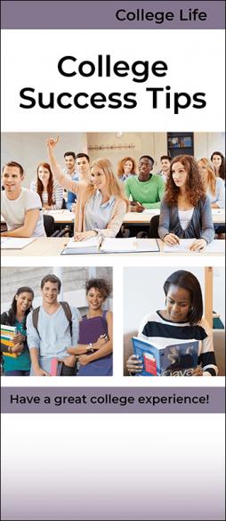 College Success Tips Pamphlet Handout