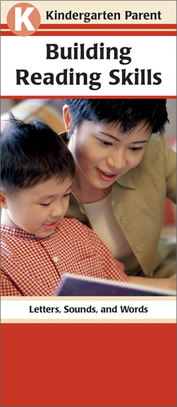 Kindergarten Parent Building Reading Skills Pamphlet Handout