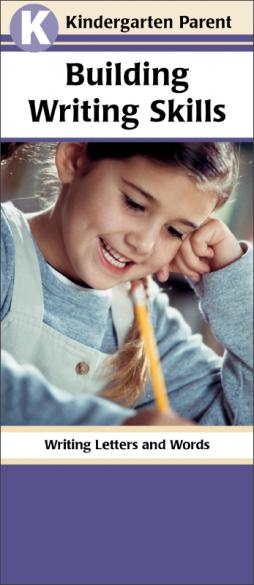 Kindergarten Parent Building Writing Skills Pamphlet Handout