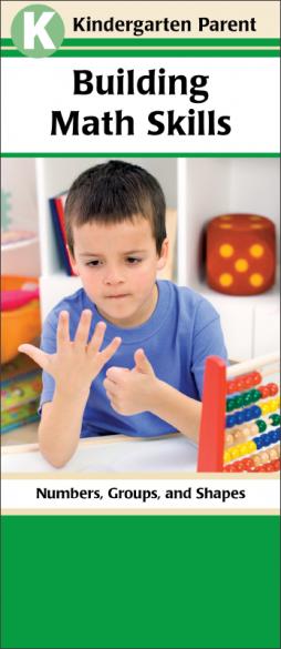 Kindergarten Parent Building Math Skills Pamphlet Handout