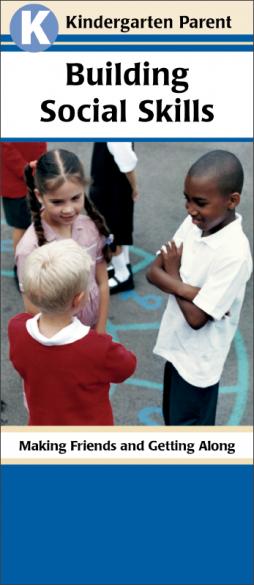 Kindergarten Parent Building Social Skills Pamphlet Handout