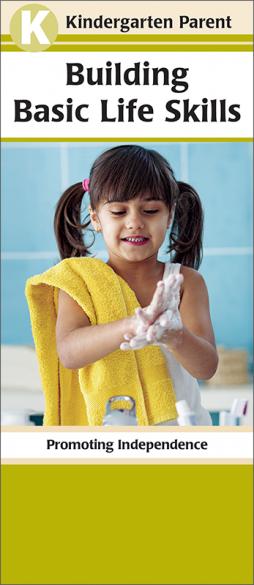 Kindergarten Parent Building Basic Life Skills Pamphlet Handout