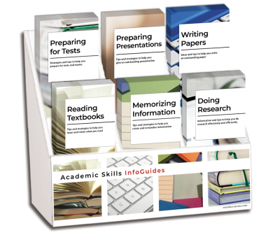 College Academic Skills InfoGuides Display Package