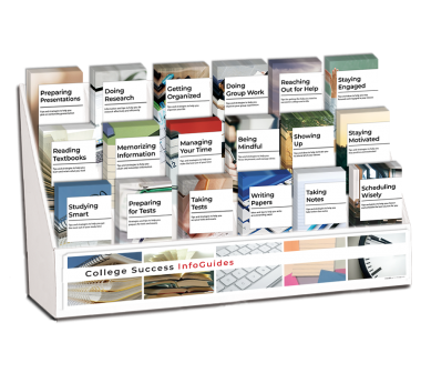 College Success Pamphlet Display Package