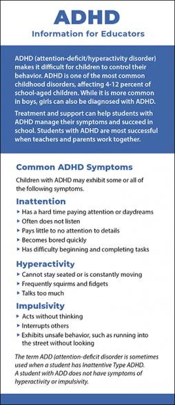 ADHD - Information for Educators