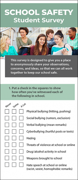 School Safety Student Survey