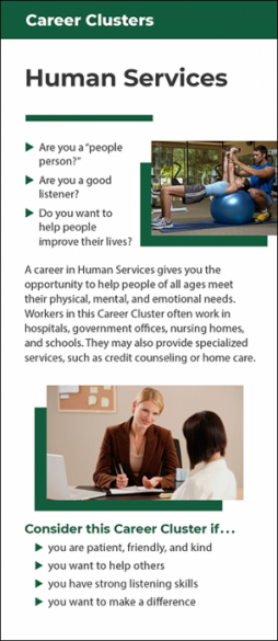 Career Clusters – Human Services