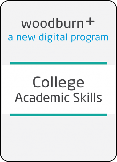 Woodburn Plus College Academic Skills Digital Resources Package