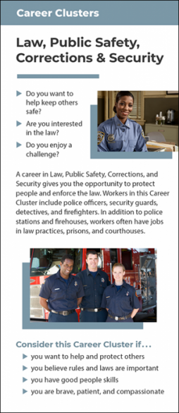 Career Clusters – Law, Public Safety, Corrections and Security