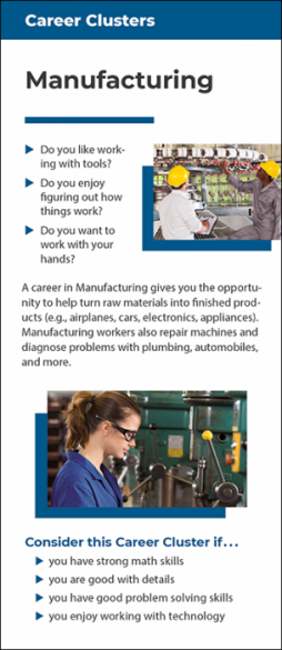 Career Clusters – Manufacturing
