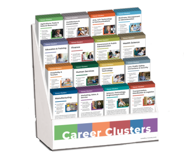 Career Clusters Rack Card Display Package