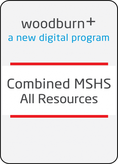 Woodburn Plus Combined MSHS All Resources Digital Package