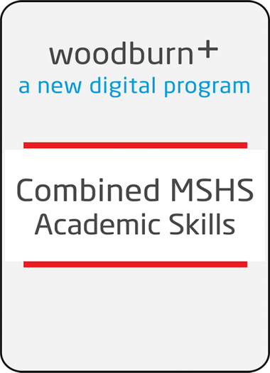 Woodburn Plus - Combined MSHS Academic Skills Package
