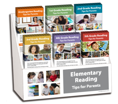 K - 5th Grade Reading Rack Card Display Package