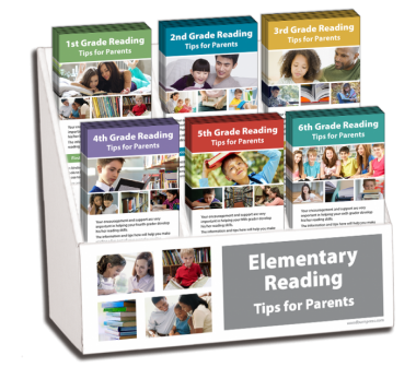 1st - 6th Grade Reading Rack Card Display Package