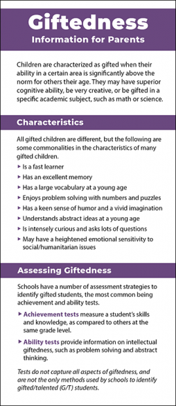 Giftedness - Information for Parents