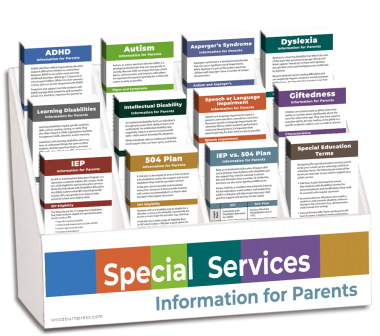 Special Services - Information for Parents Rack Card Display Package