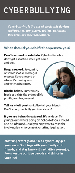 Cyberbullying Rack Card Handout