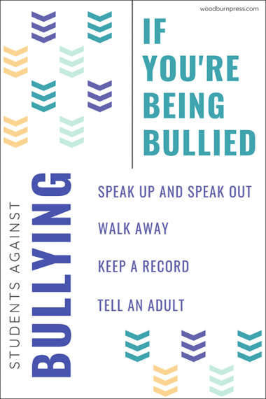 If You're Being Bullied