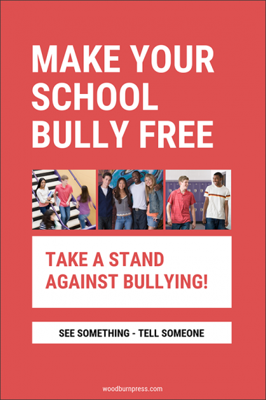 Make Your School Bully Free Poster