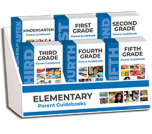 K - 5th Grade Parent Guidebooks Display Package