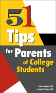 51 Tips for Parents of College Students Book Handout