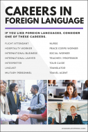 Careers in Foreign Language