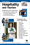 Career Clusters - Hospitality and Tourism Poster